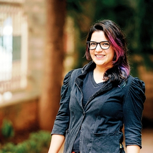 Aditi Mittal, one of the first women to do stand-up comedy in India